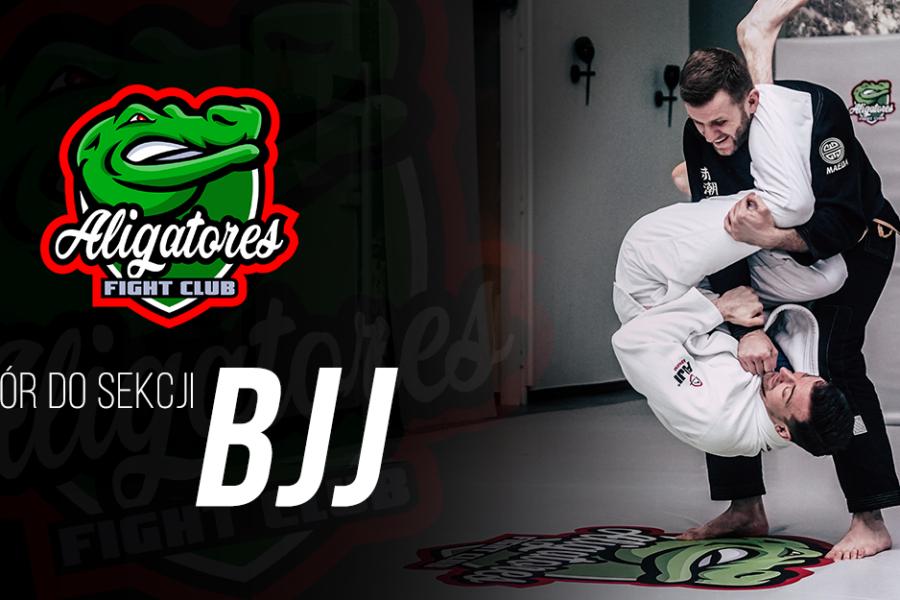 Otwarty Nabór do sekcji BJJ Aligatores FC od 23.09 do 04.10.