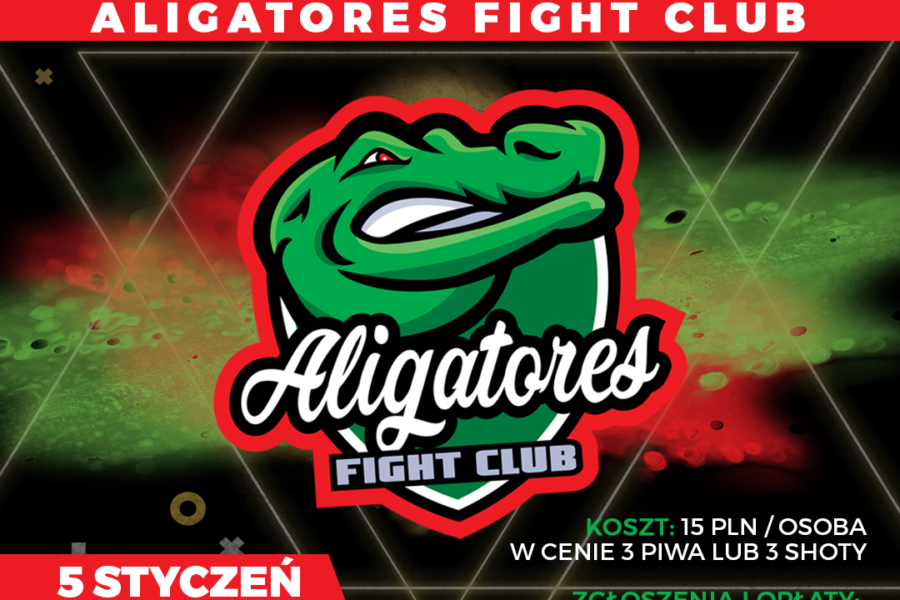 First Aligatores Fight Club birthday – 5th Jan / Opera Club