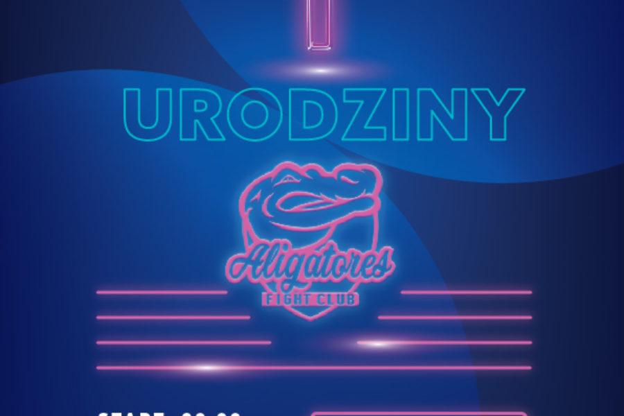 I URODZINY ALIGATORES FC-5 STYCZEŃ 2020, KLUB OPERA!